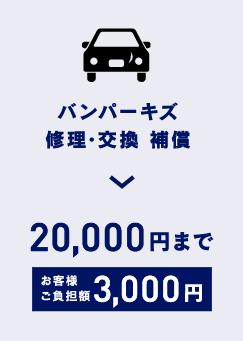 オートバックス_車検_バンパーキズ修理・交換補償